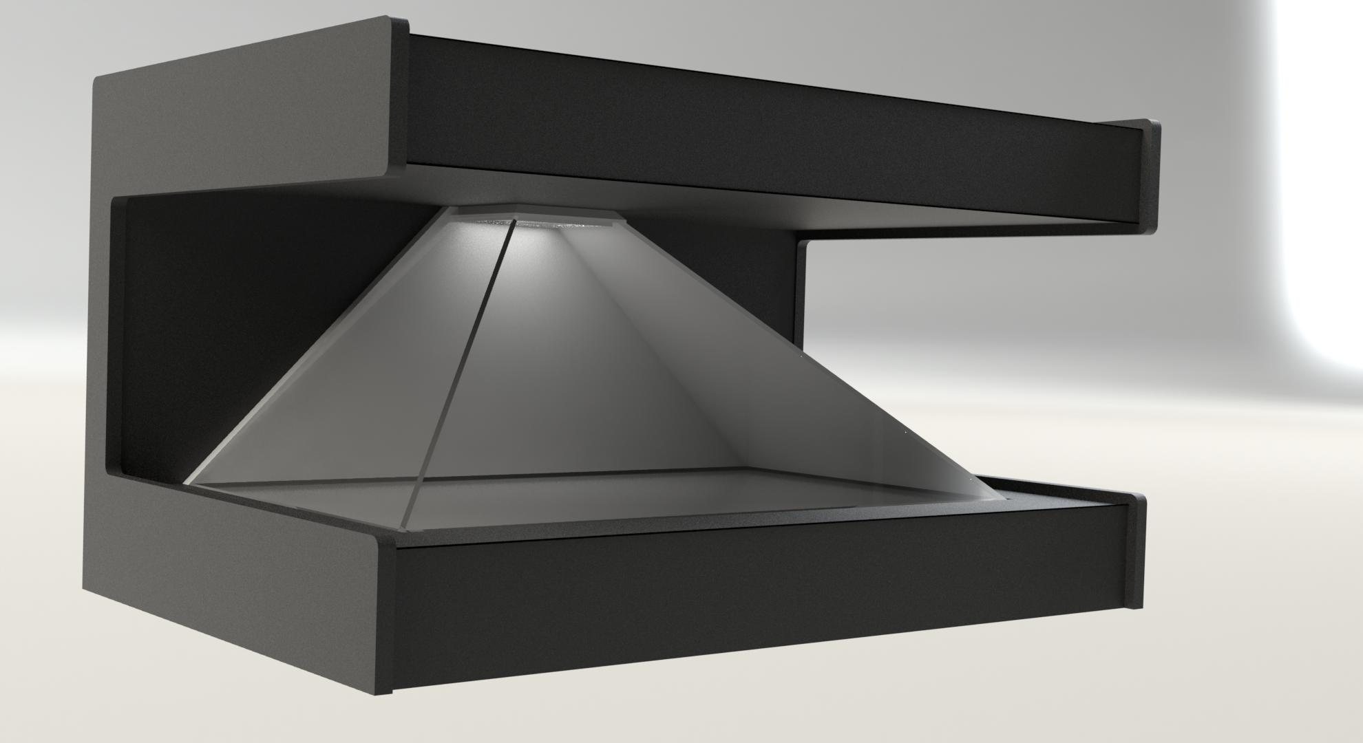 Голографическая пирамида - 3D-пирамида